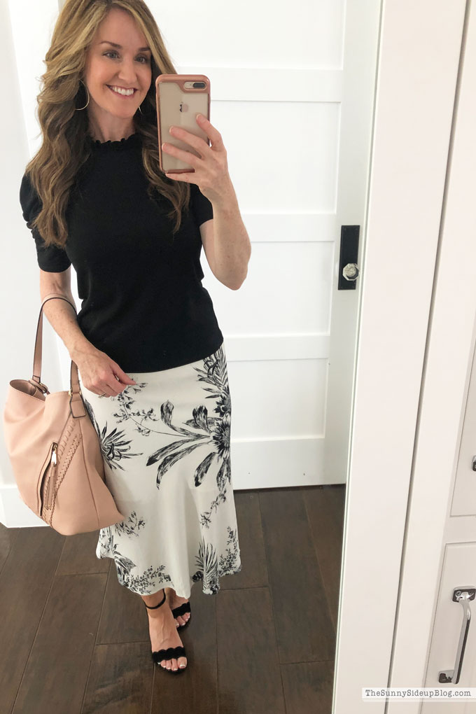 Organized Closet and Cute Skirts (Sunny Side Up)