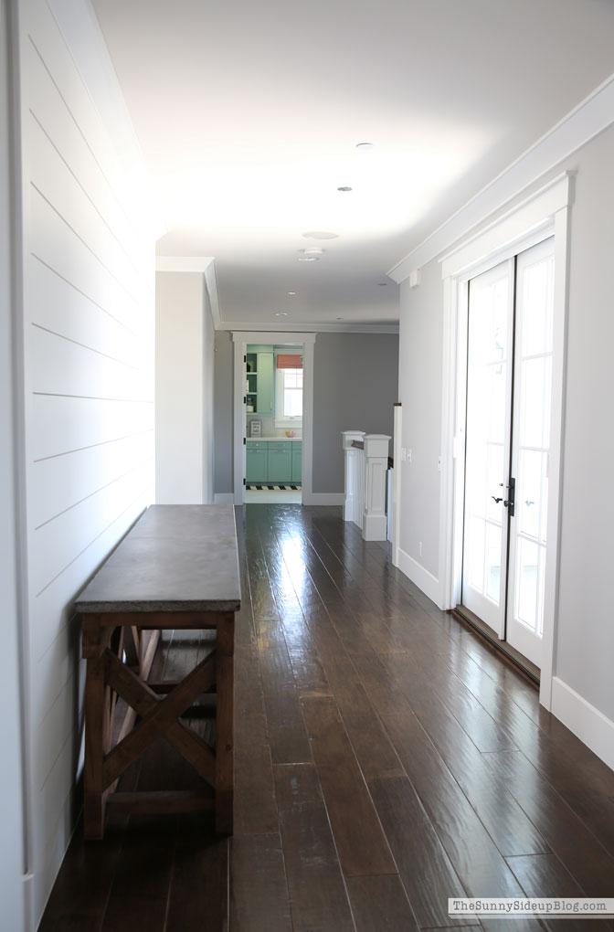 Shiplap Hallway Decor Plan (Sunny Side Up)