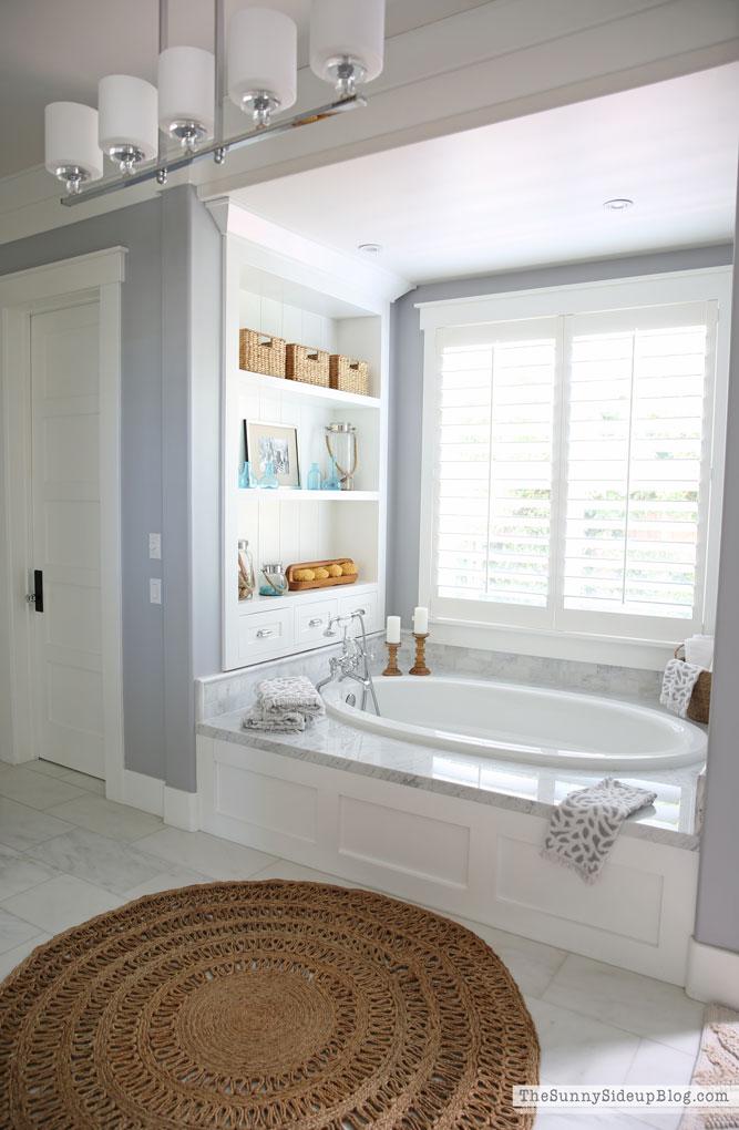 Master Bathroom Rug (Sunny Side Up)