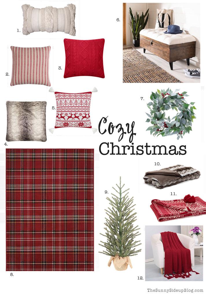 cozy christmas decor (Sunny Side Up)