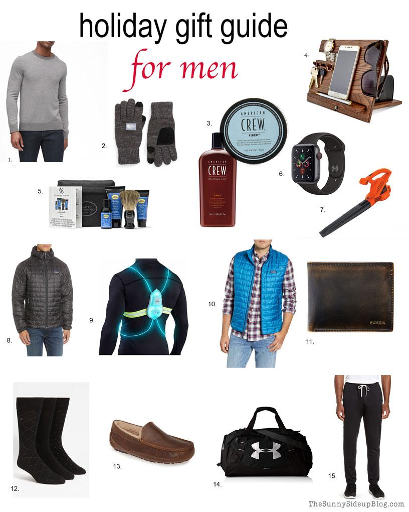 Gift Guide for Men (Sunny Side Up)
