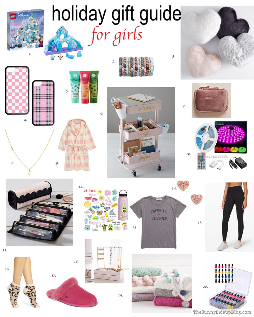 Holiday Gift Guide for Girls (Sunny Side Up)