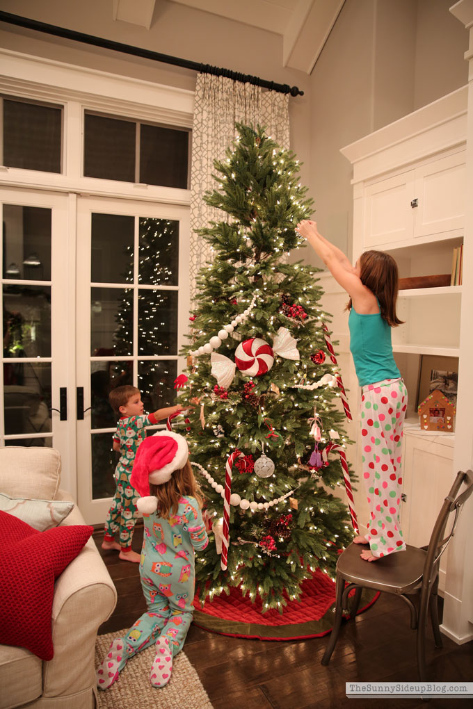 Christmas Tree Decorating (Sunny Side Up)