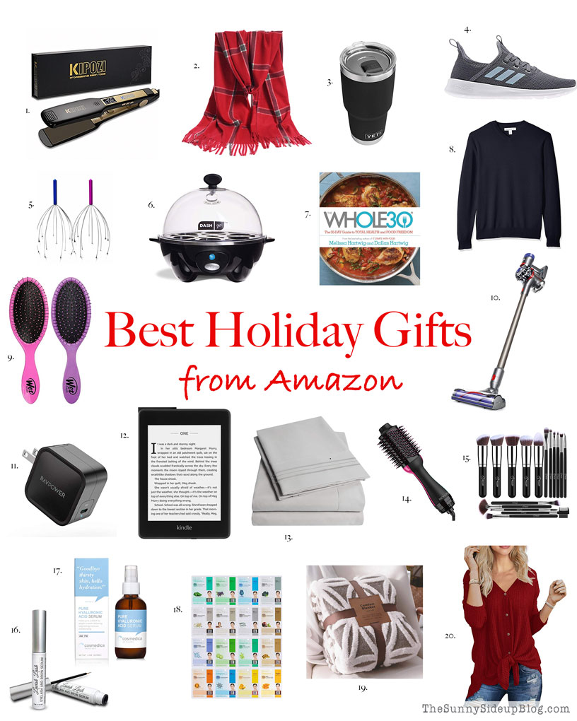 Best Holiday Gifts from Amazon (Sunny Side Up)