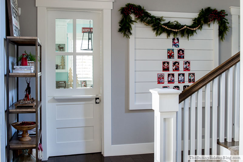 Christmas Hallway Decor and Gifts for Boys!