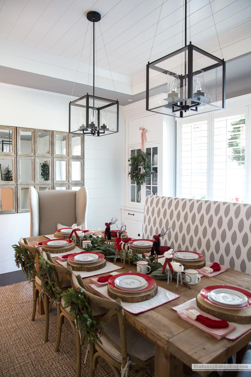 Christmas Dining Room (Sunny Side Up)
