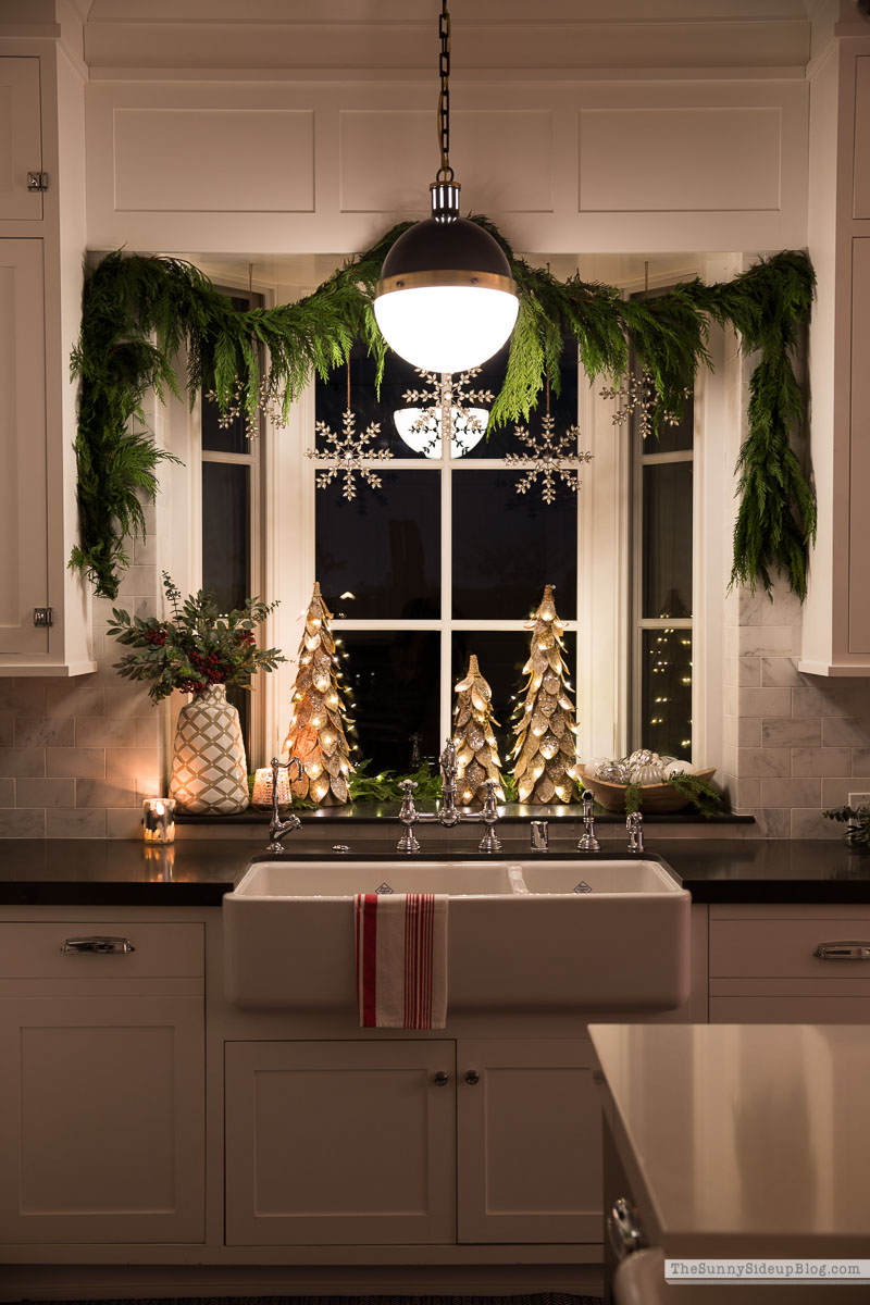Christmas Window (Sunny Side Up)