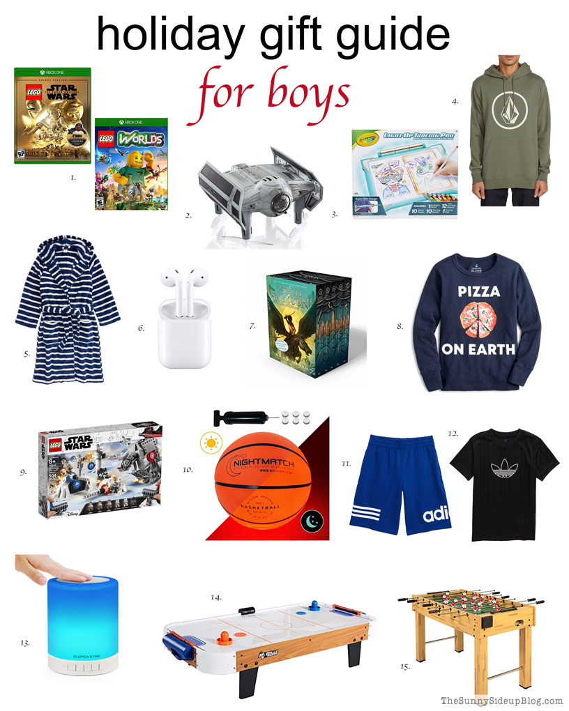 Gifts for Boys (Sunny Side Up)
