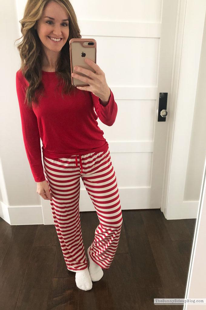 Favorite Christmas Pajamas (Sunny Side Up)