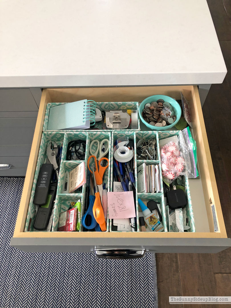 15 minute organizing (Sunny Side Up)