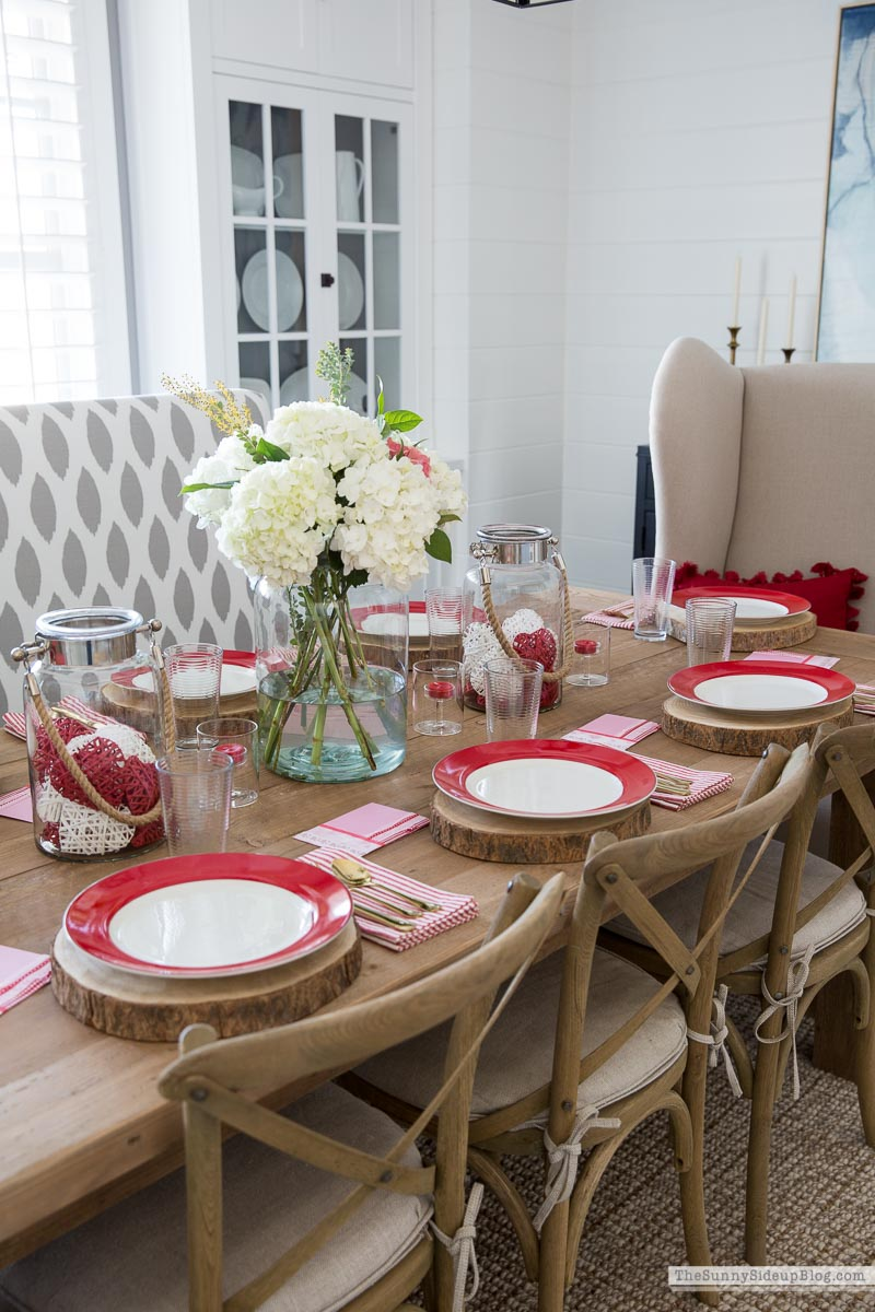 Valentine's Day Table (Sunny Side Up)