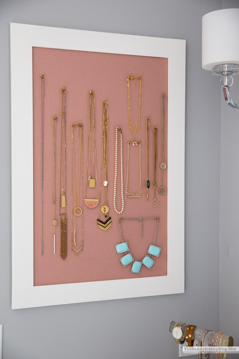 Organized Jewelry (Sunny Side Up)