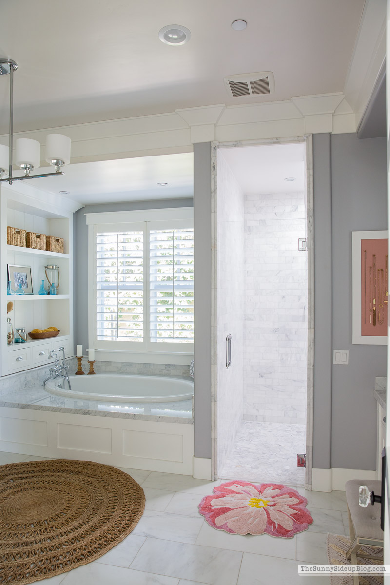 Bathroom Rugs for Spring (Sunny Side Up)