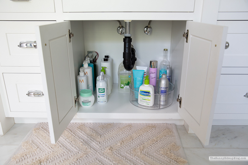 Organized Bathroom (Sunny Side Up)
