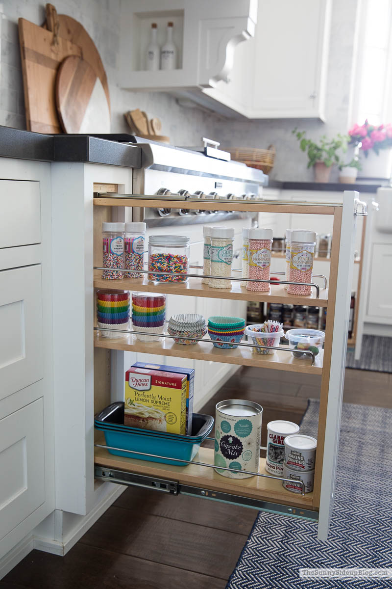 Organized Spices (Sunny Side Up)