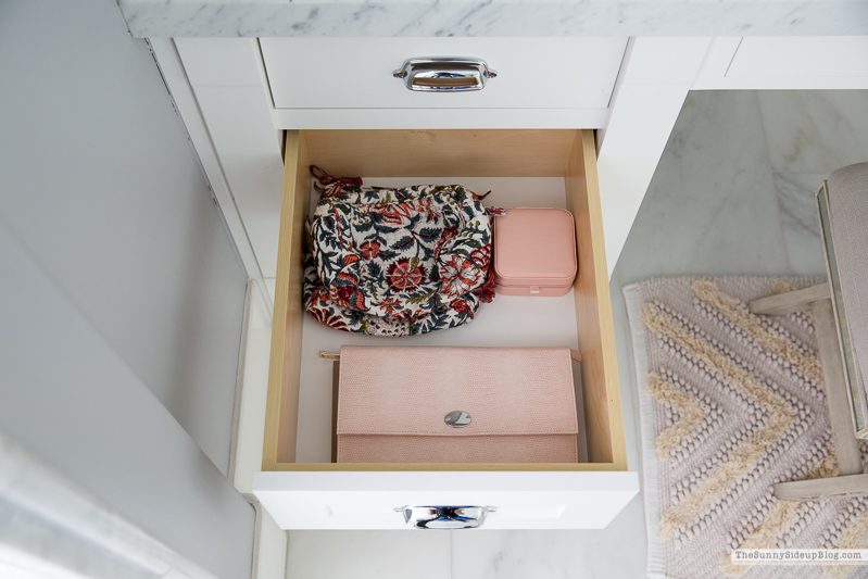 Organized Bathroom Drawers (Sunny Side Up)
