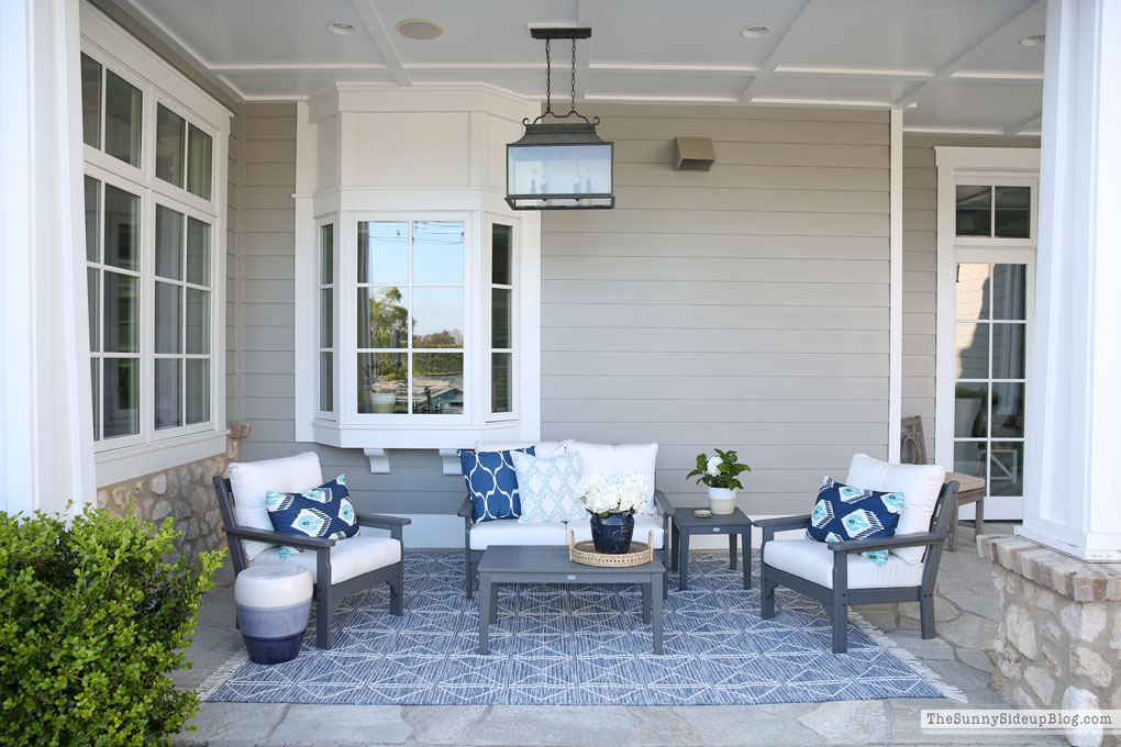 How to wash outdoor patio cushions (Sunny Side Up)