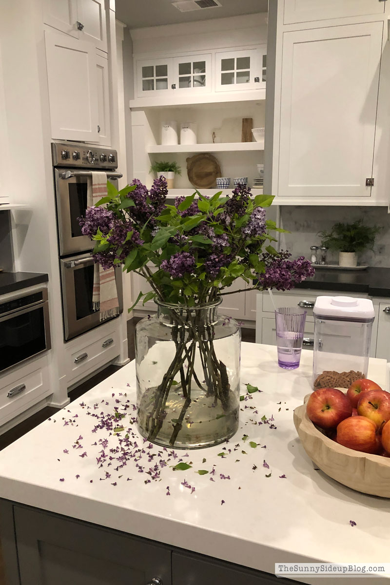 Beautiful faux lilacs (Sunny Side Up)