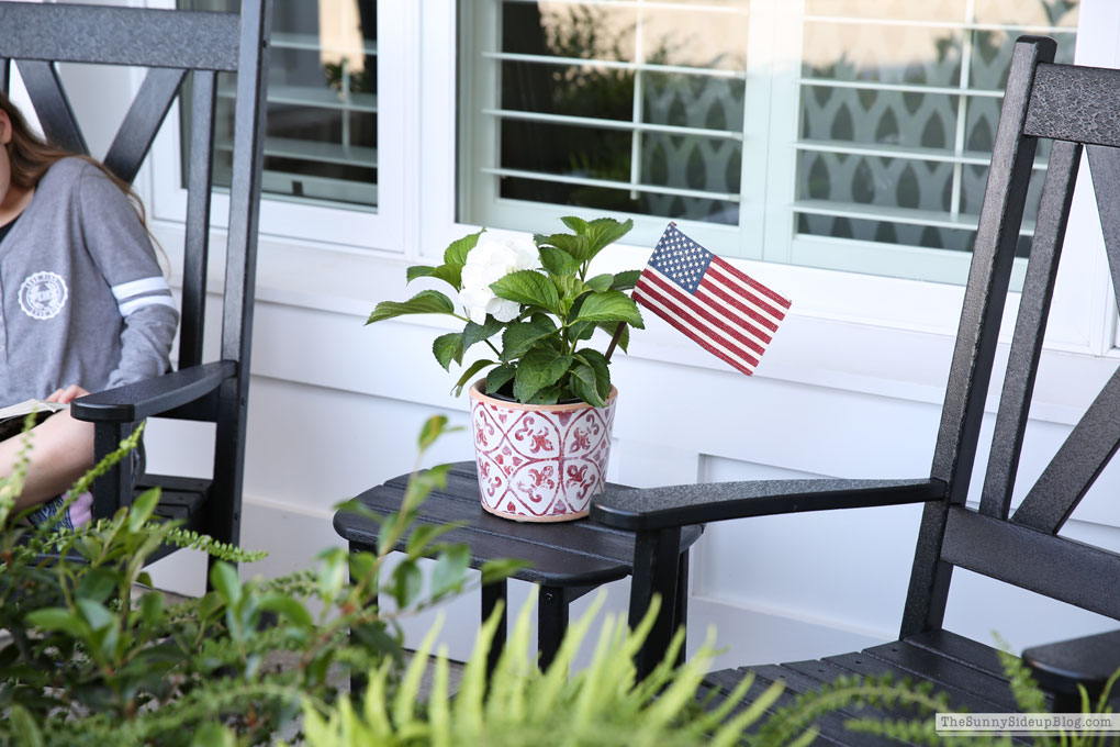 4th of July decor (Sunny Side Up)