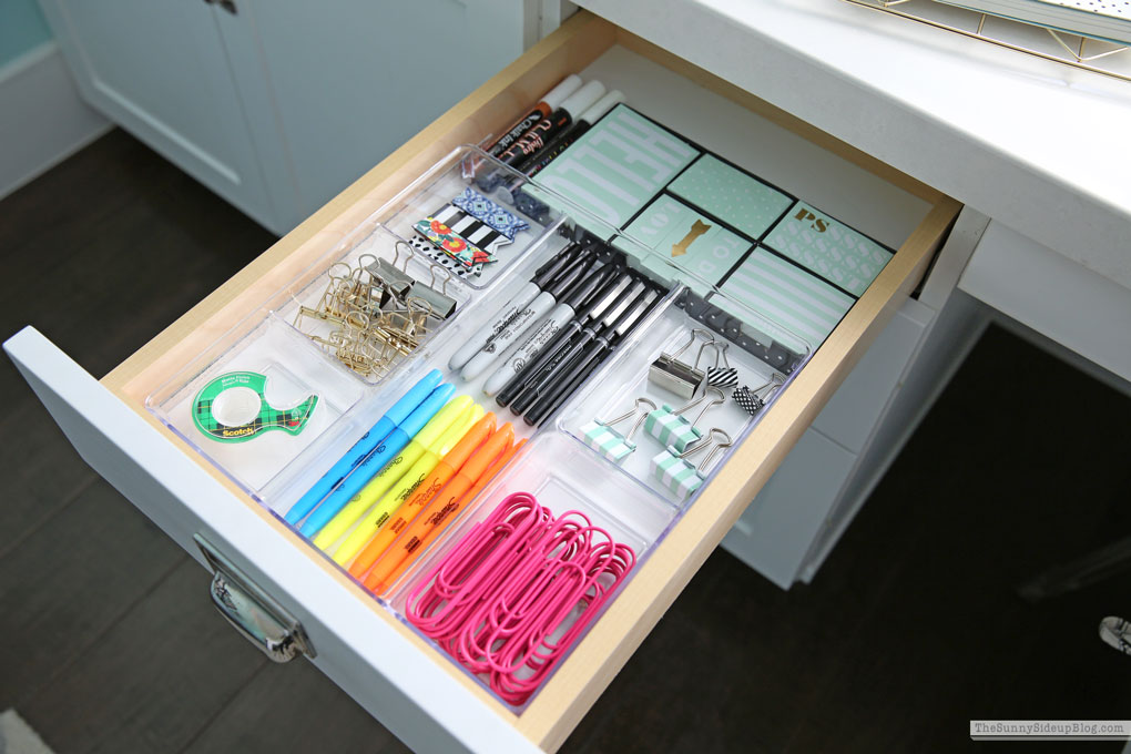 Organized Cupboards and Drawers (Sunny Side Up)