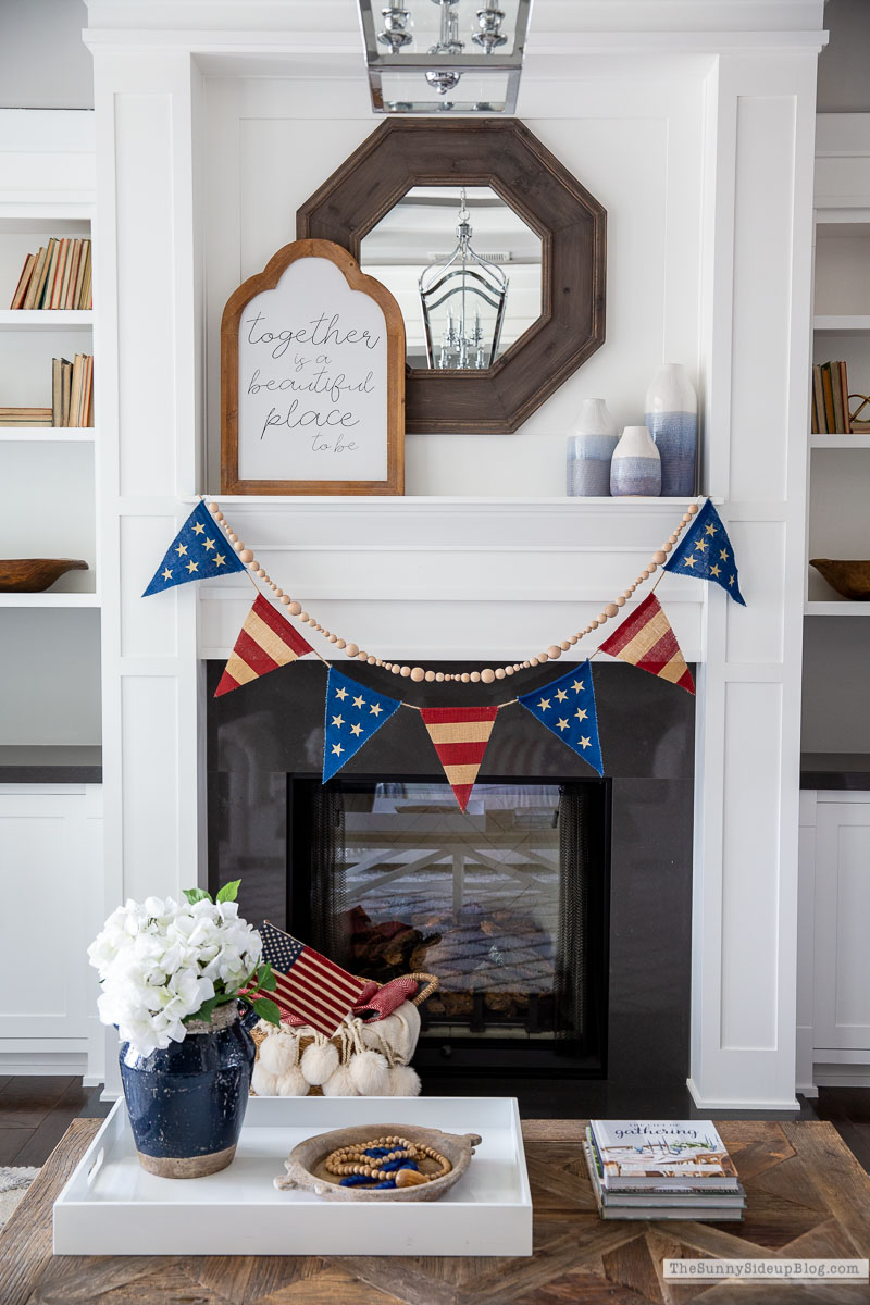 Patriotic Decor Living Room (Sunny Side Up)