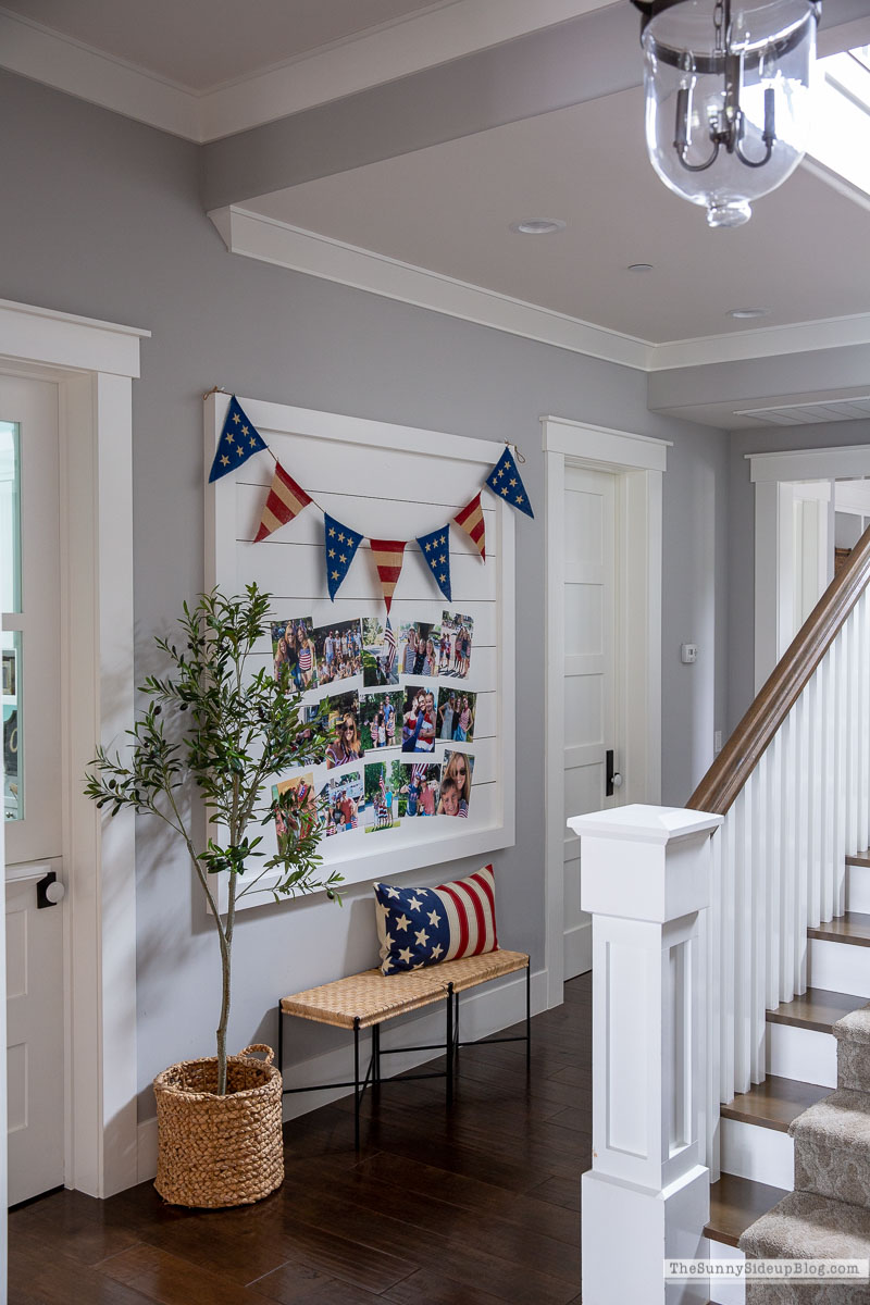 4th of July Picture Gallery Wall (Sunny Side Up)