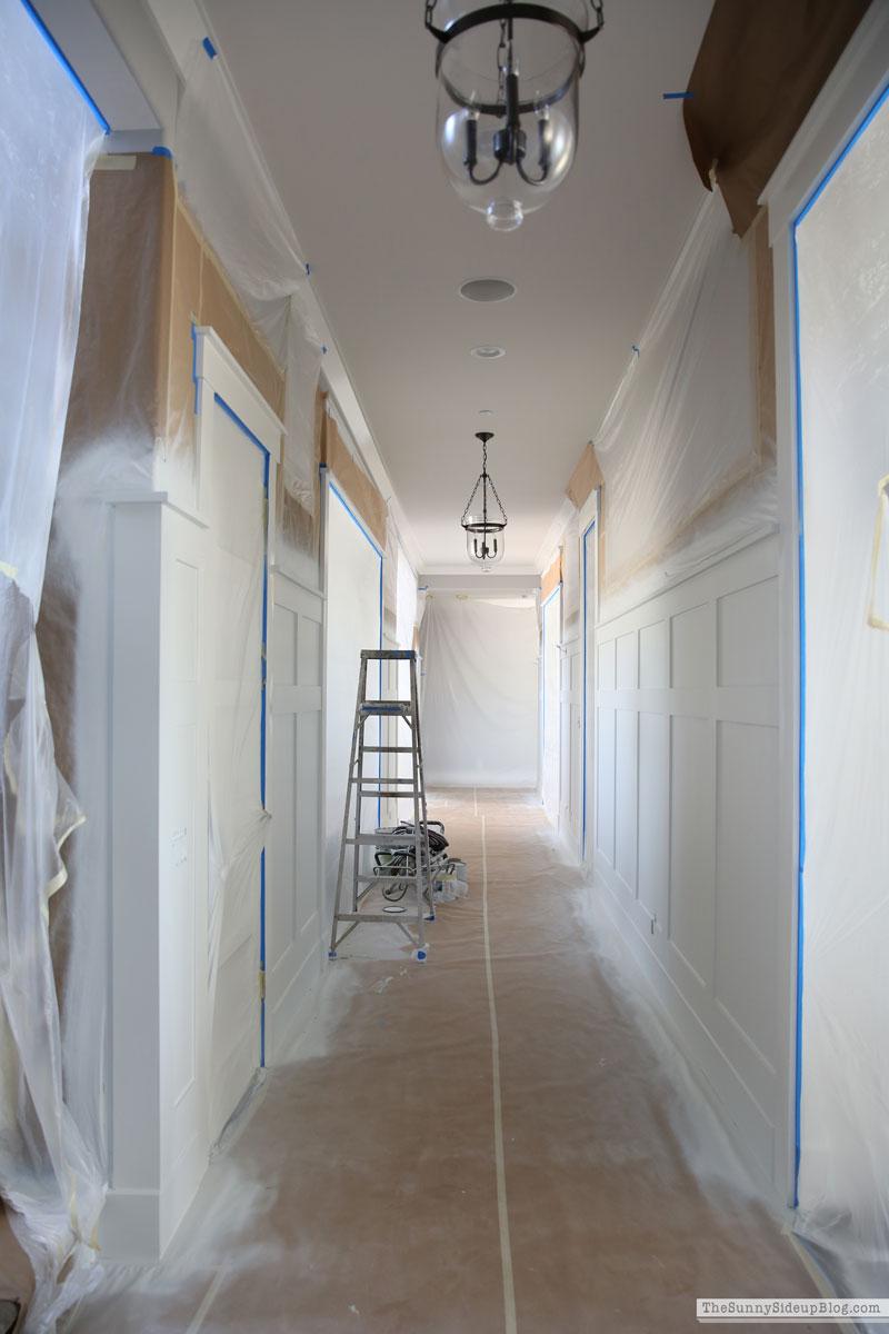 hallway molding (Sunny Side Up)