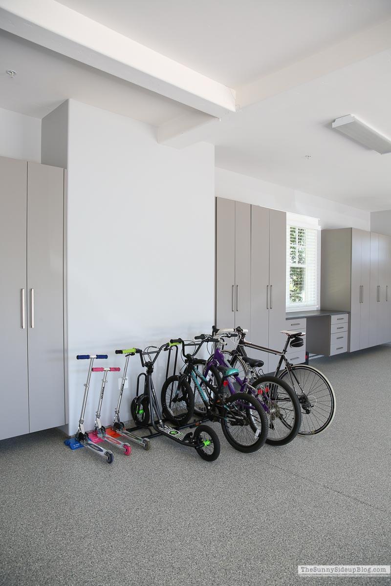 Organized Bikes (Sunny Side Up)