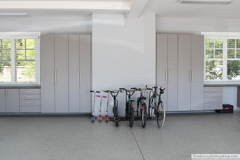 Garage Organization – Bike Storage