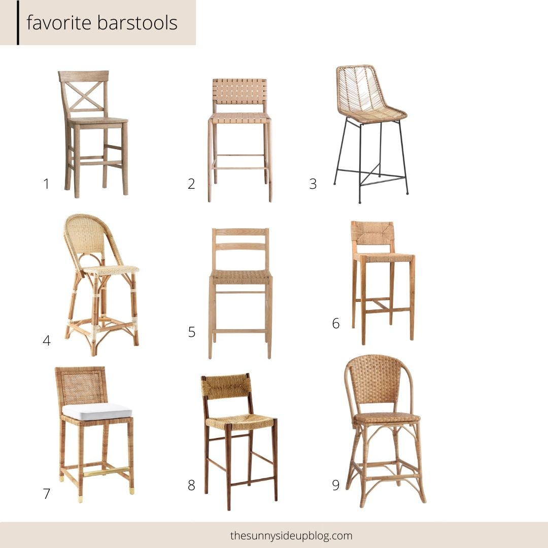 Favorite Barstools (Sunny Side Up)