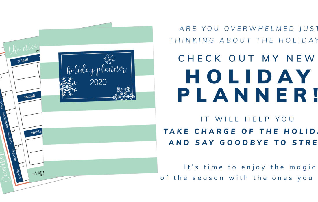 2020 Holiday Planner and Amazon Prime Sales!