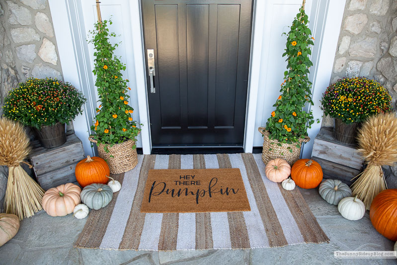 Pumpkin Fall Porch