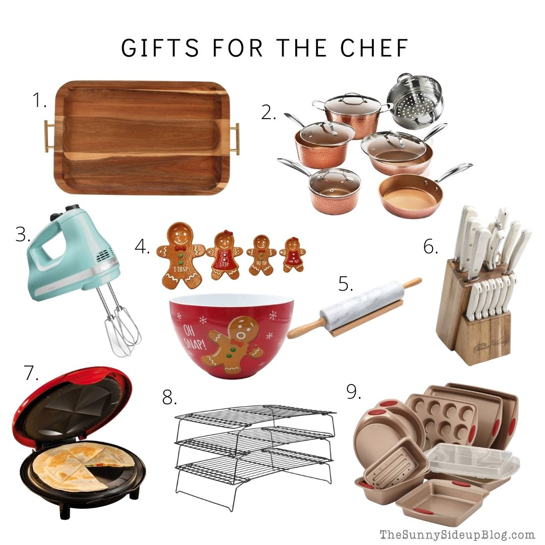Gifts for the chef (thesunnysideupblog)