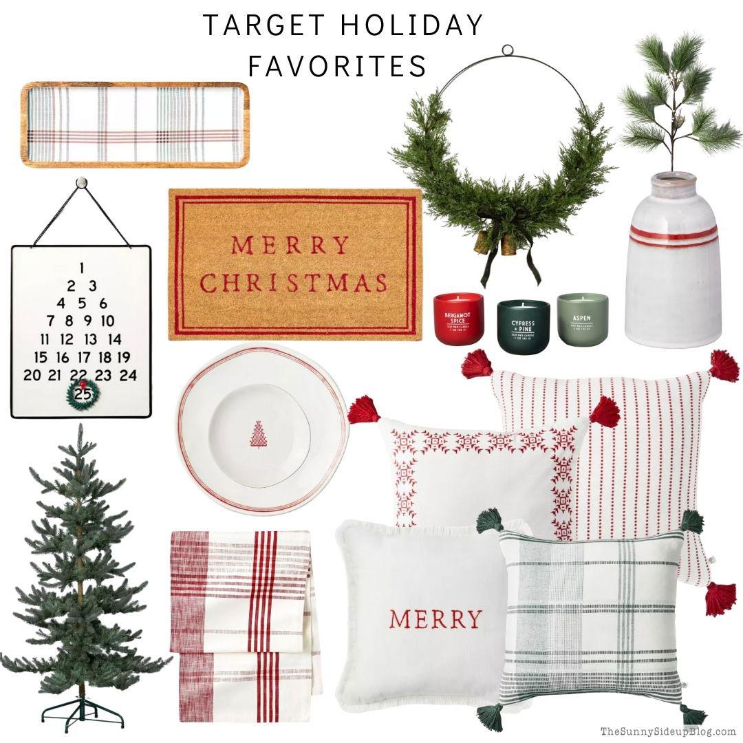 Target Christmas Favorites (Sunny Side Up)