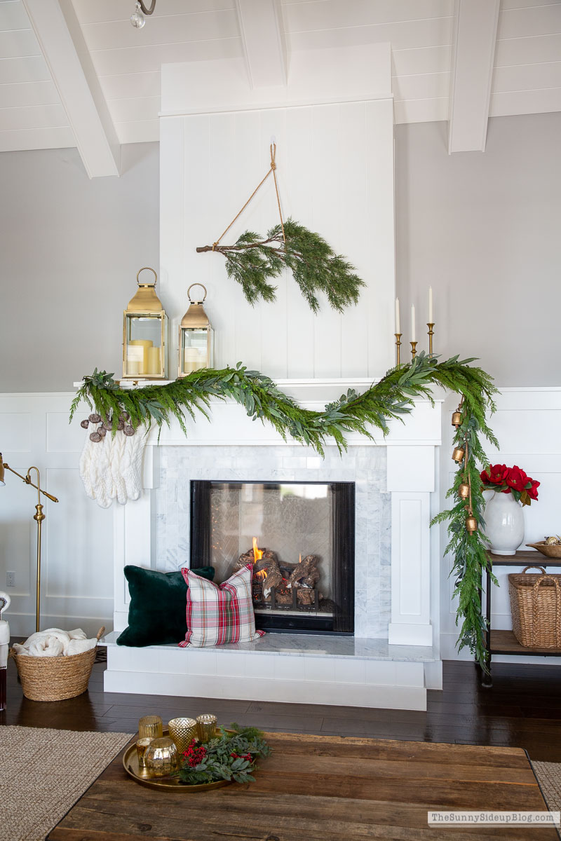 Christmas Fireplace (Sunny Side Up)