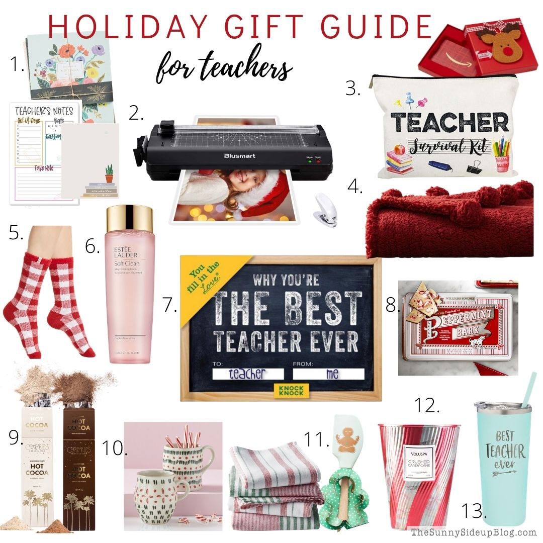 Holiday Gift Guide for Teachers (Sunny Side Up)