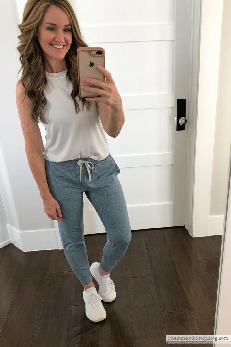 Favorite workout/lounge wear (Sunny Side Up)