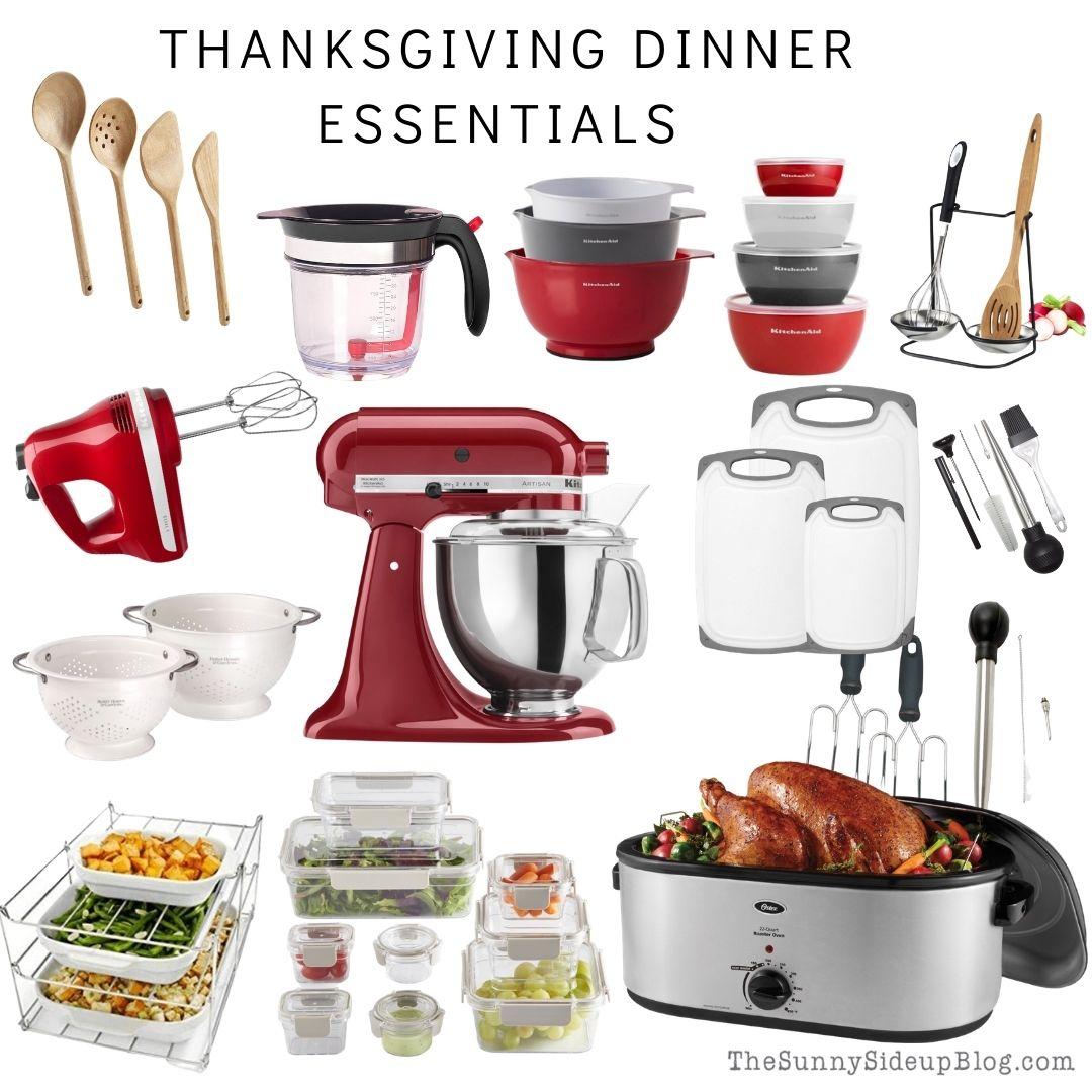 Thanksgiving Dinner Essentials (thesunnysideupblog.com)