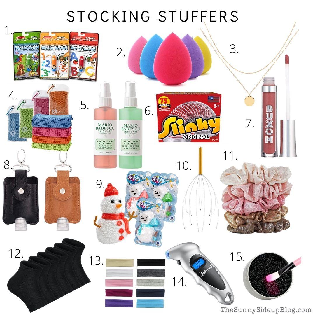 Stocking Stuffers (thesunnysideupblog.com)