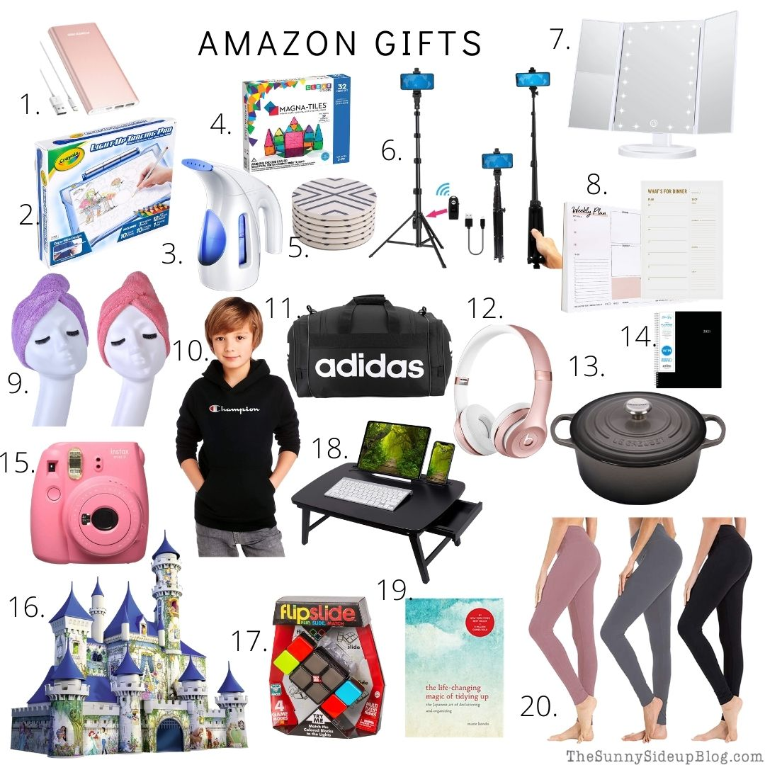 Amazon Holiday gifts (thesunnysideupblog.com)