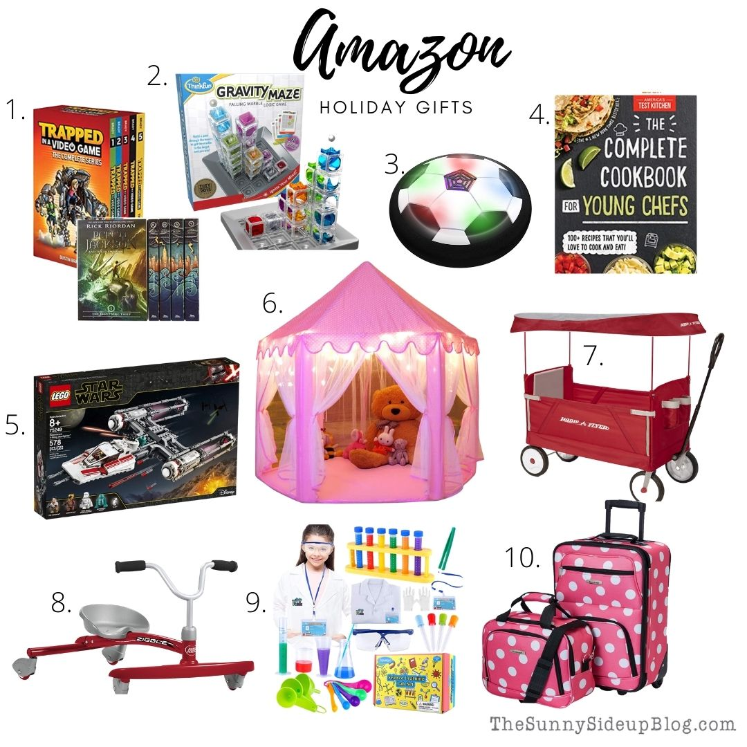 Amazon Holiday Gifts (thesunnysideupblog.com)