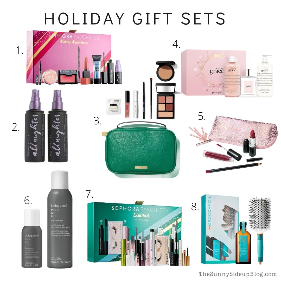 Holiday Gift Sets (thesunnysideupblog.com)