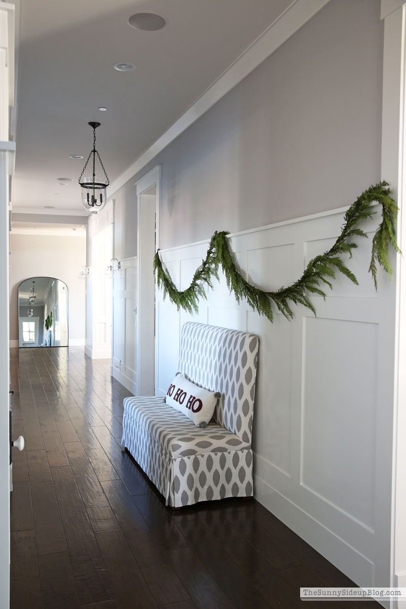Christmas mudroom (Sunny Side Up)