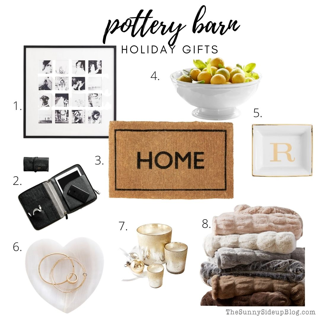 Pottery Barn Holiday Gifts (thesunnysideupblog.com)