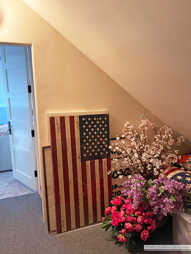 Holiday Decor Storage (Sunny Side Up)
