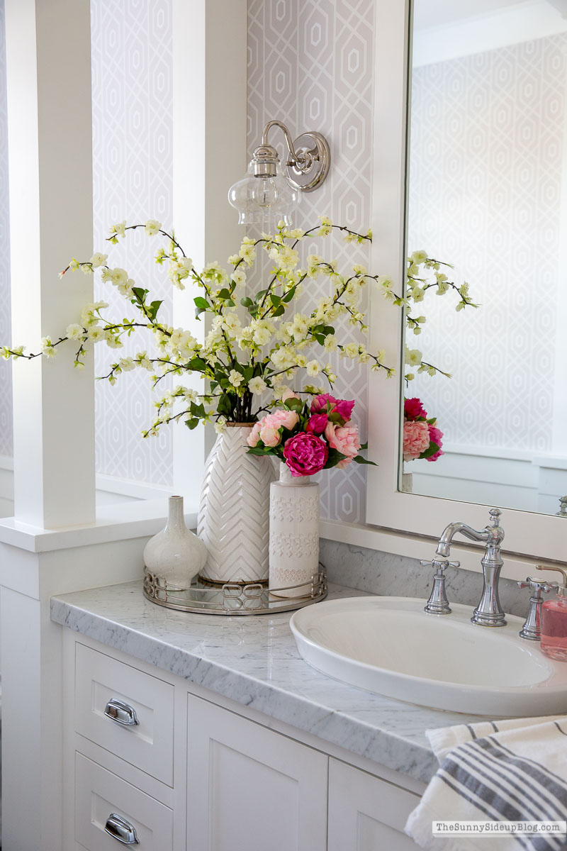 Valentine's Day Bathroom (Sunny Side Up)