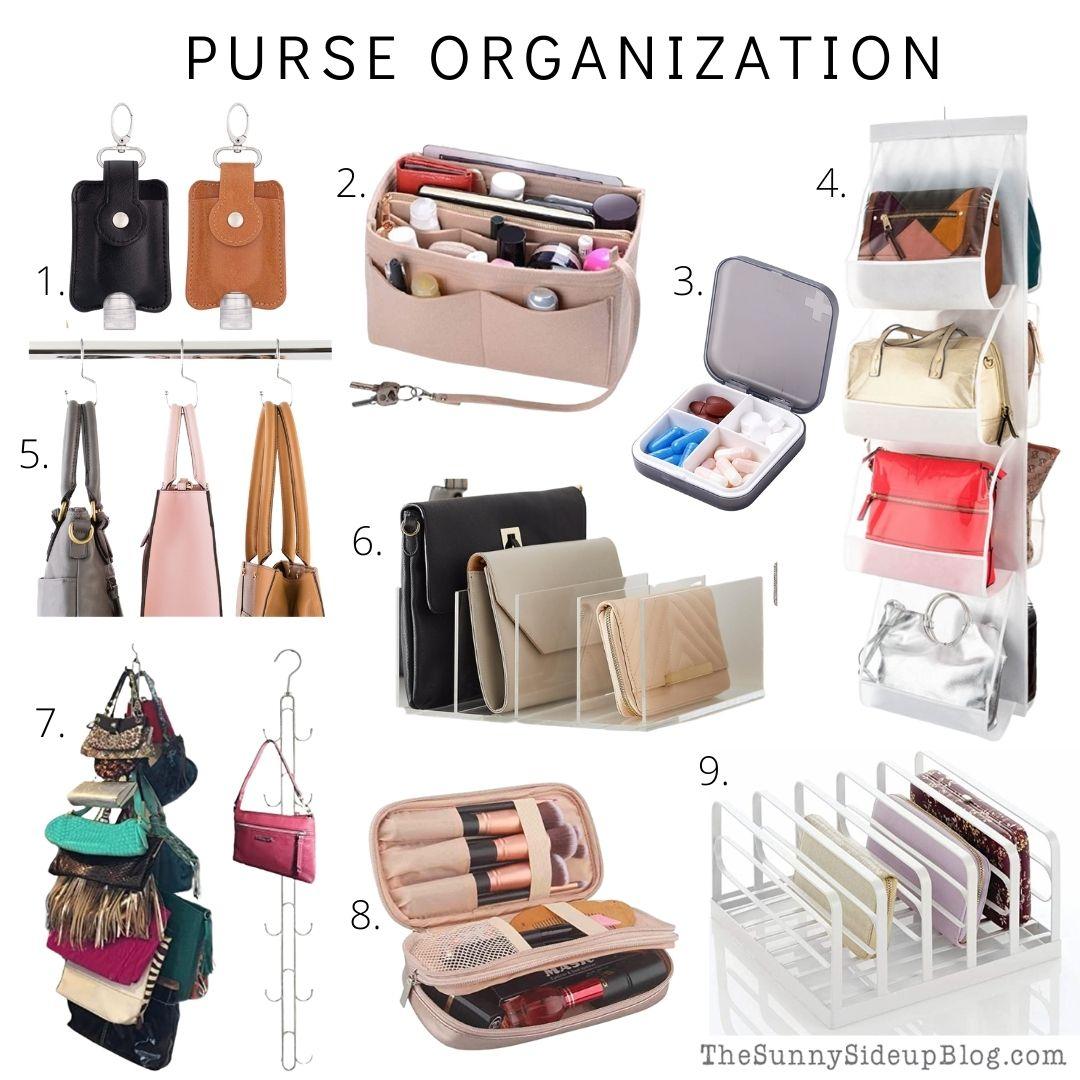 Purse Organization (Sunny Side Up)