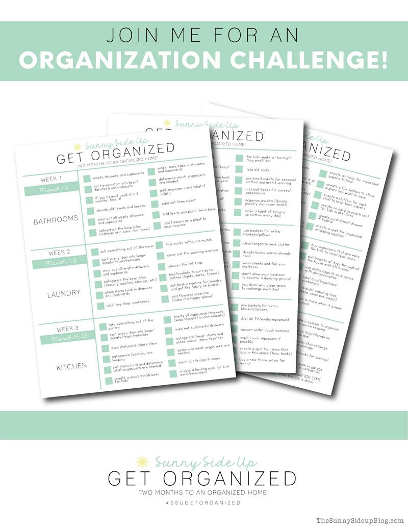 Organization Challenge (Sunny Side Up)