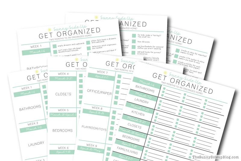 Get Organized Challenge!