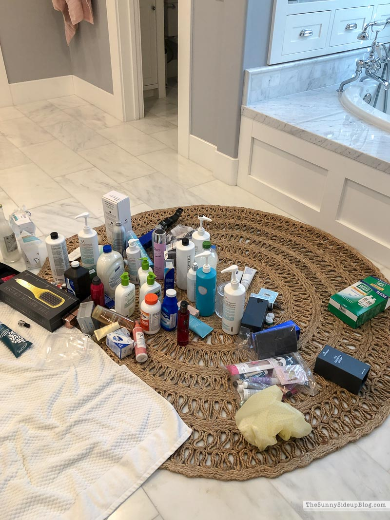 Bathroom Organization Tips (Sunny Side Up)